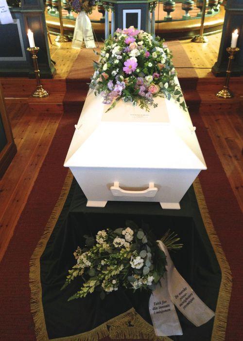 Funeral of Anna Kristensen